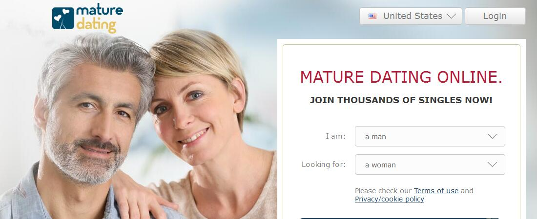 online mature dating sites